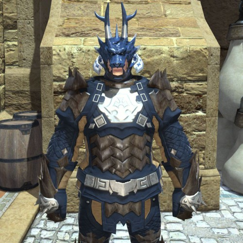 FF14降神祭の龍形兜