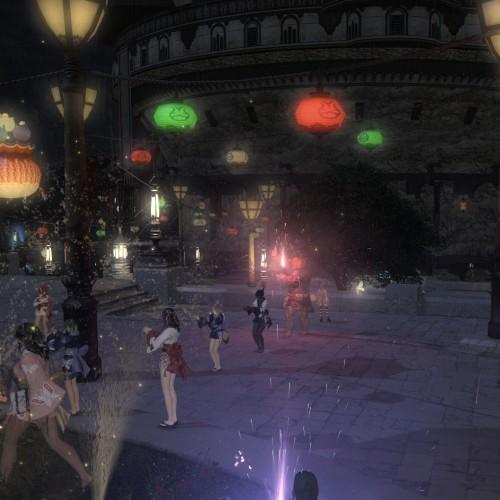 FF14の盆踊り大会『Hezz Satz(ヘッツ サッツ)』【爆炎祭】