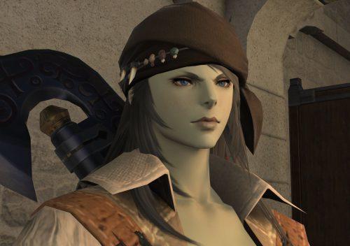 FF14ルガディン女性(ゼーヴォルフ)斧術士