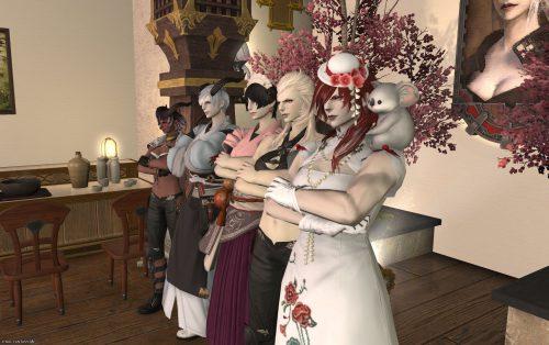 FF14「割烹るがこ」ルガディン女性オンリーのプレプレオープン画像
